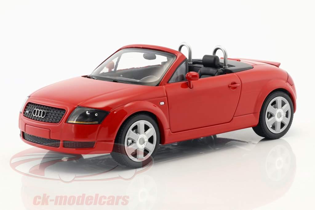Audi TT (8N) Roadster Opførselsår 1999 rød 1:18 Minichamps