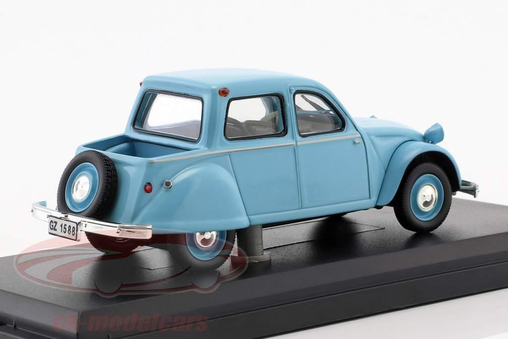 Citroën 2CV Citroneta Opførselsår 1963 lyseblå 1:43 Norev