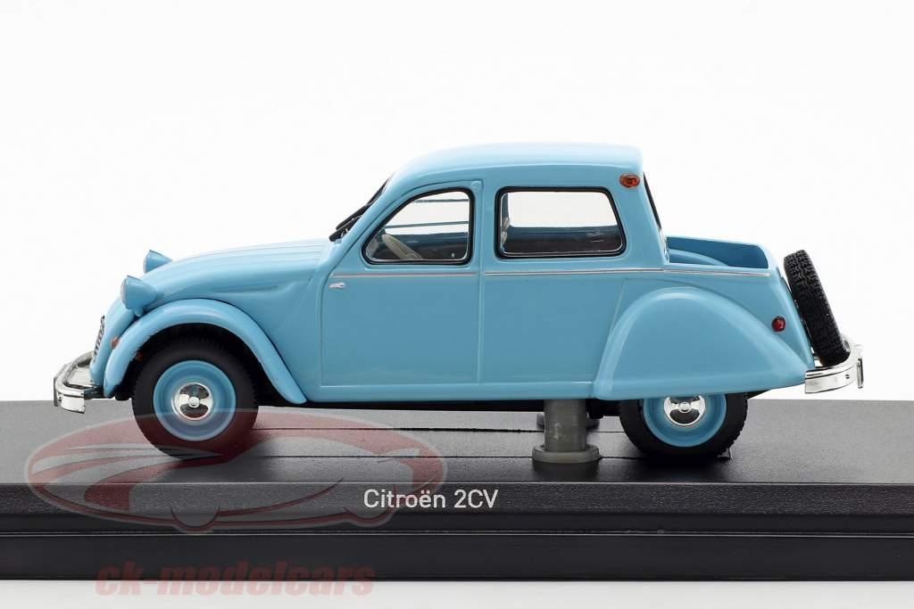 Citroën 2CV Citroneta année de construction 1963 bleu clair 1:43 Norev