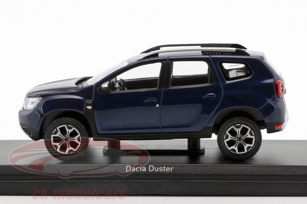 Dacia Duster année de construction 2018 cosmos bleu métallique 1:43 Norev