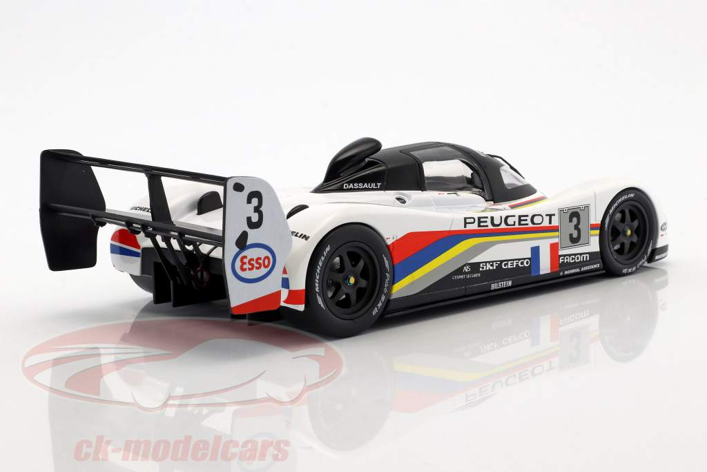 Peugeot 905 Evo 1B #3 gagnant 24h LeMans 1993 Helary, Bouchut, Brabham 1:18 Norev