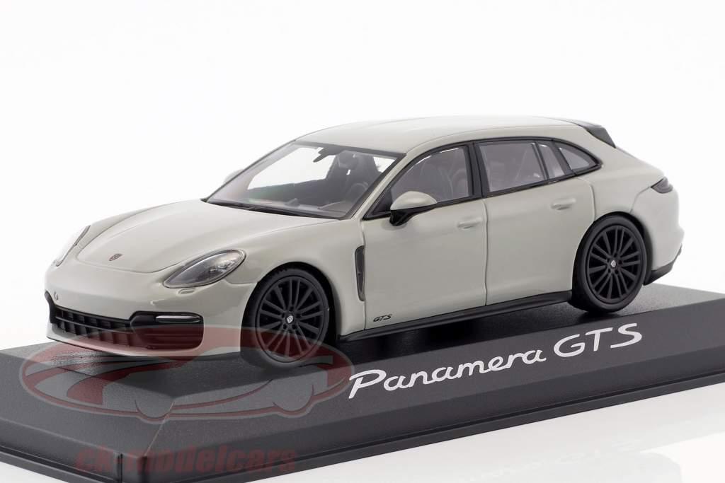 Porsche Panamera Sport Turismo GTS année de construction 2017 craie gris 1:43 Minichamps