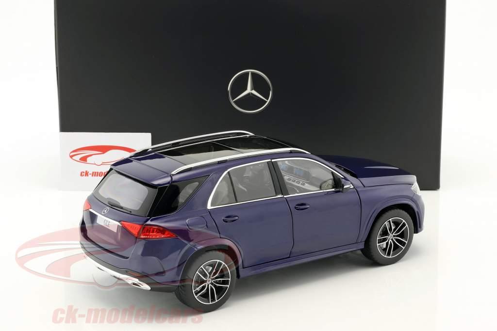 Mercedes-Benz GLE (V167) année de construction 2018 brillant bleu métallique 1:18 Norev