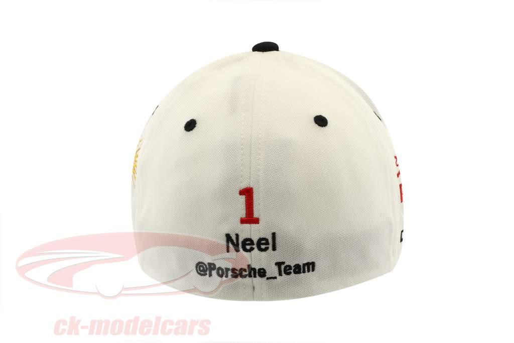 Porsche LMP Team Cap #1 Neel Jani 24h LeMans 2017 hvid
