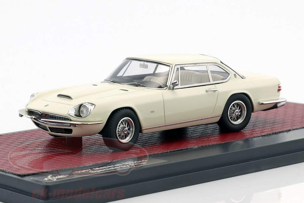 Maserati Mexico Speciale Frua year 1967 white 1:43 Matrix
