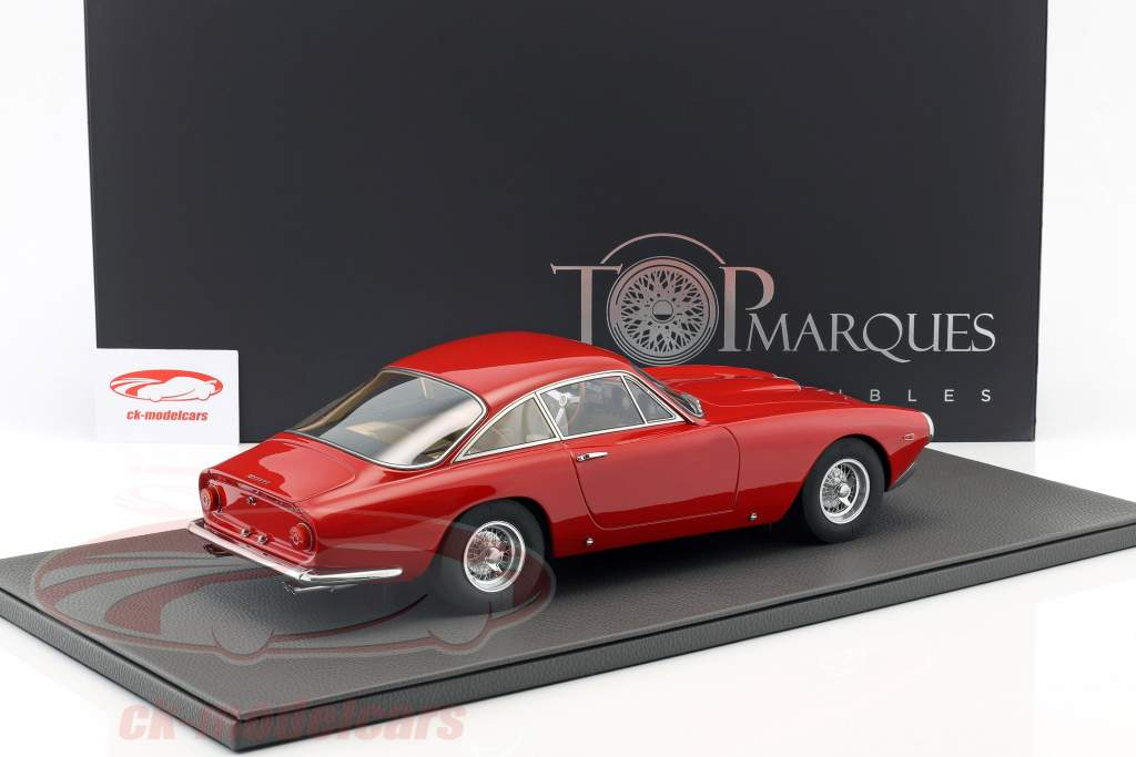 Ferrari 250 GT Lusso year 1962 red 1:12 TopMarques