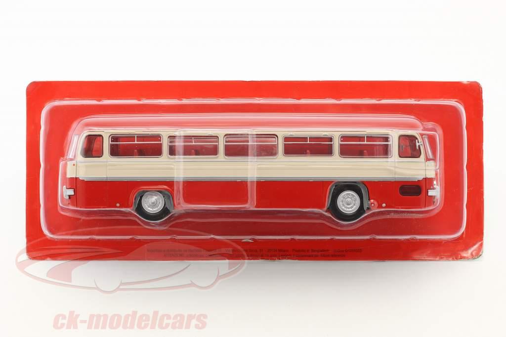 Chausson ANG bus Frankrig Opførselsår 1956 rød / hvid / sølv 1:43 Altaya