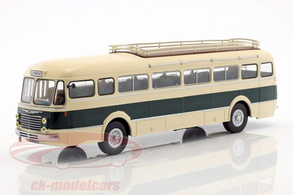 Renault R 4192 bus France année de construction 1954 beige / vert 1:43 Altaya