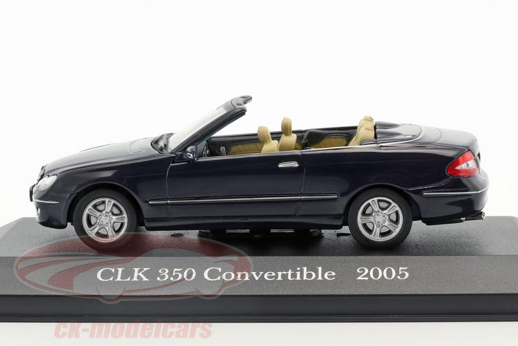 año de construcción 2005 azul 1:43 Ixo Altaya Mercedes Benz CLK 350 a209