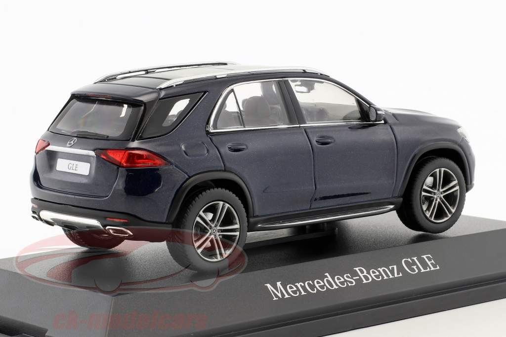 Mercedes-Benz GLE (V167) year 2018 cavansite blue 1:43 Norev