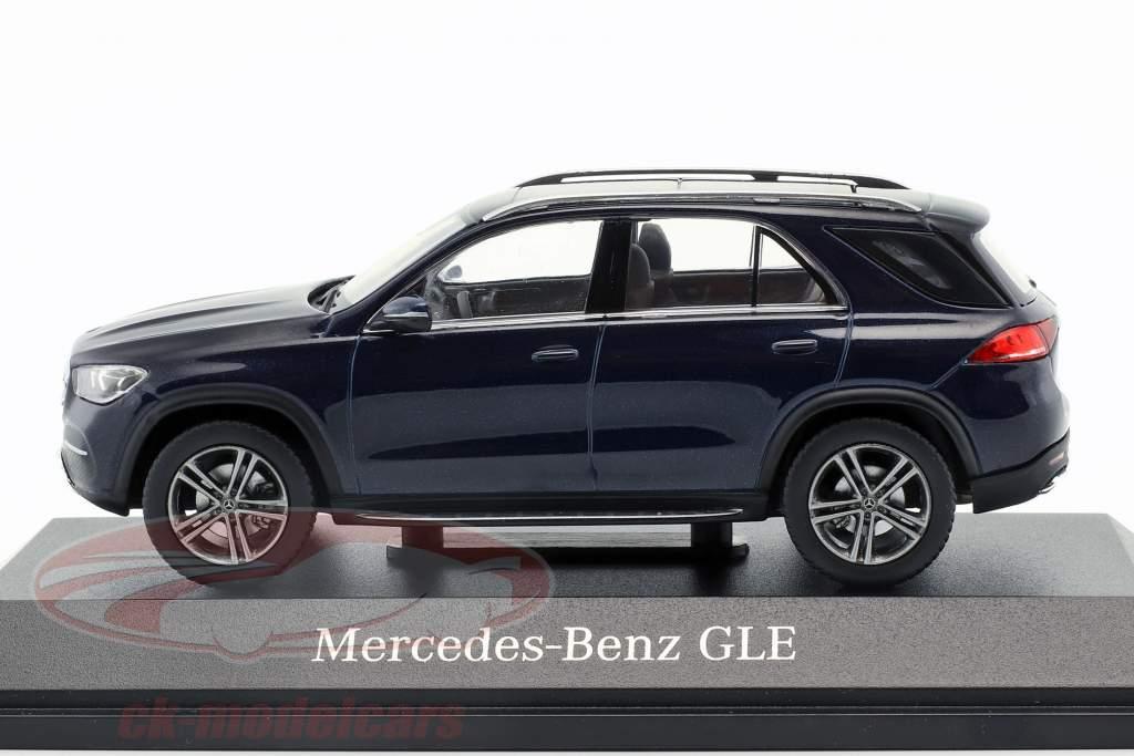 Mercedes-Benz GLE (V167) anno di costruzione 2018 cavansite blu 1:43 Norev