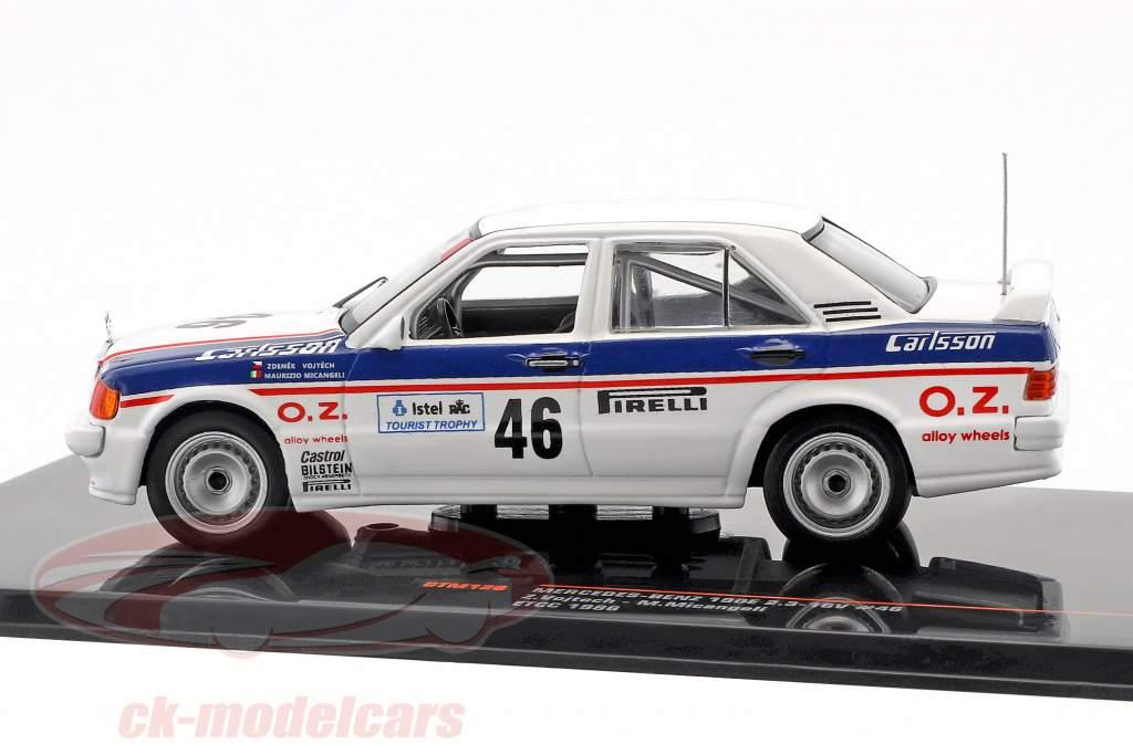 Mercedes-Benz 190E 2.3-16V #46 ETCC 1986 Vojtech, Micangeli 1:43 Ixo