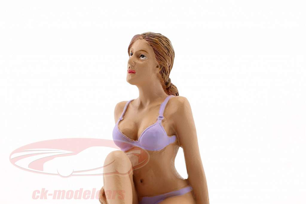 Calendar Girl september in bikini 1:18 American Diorama