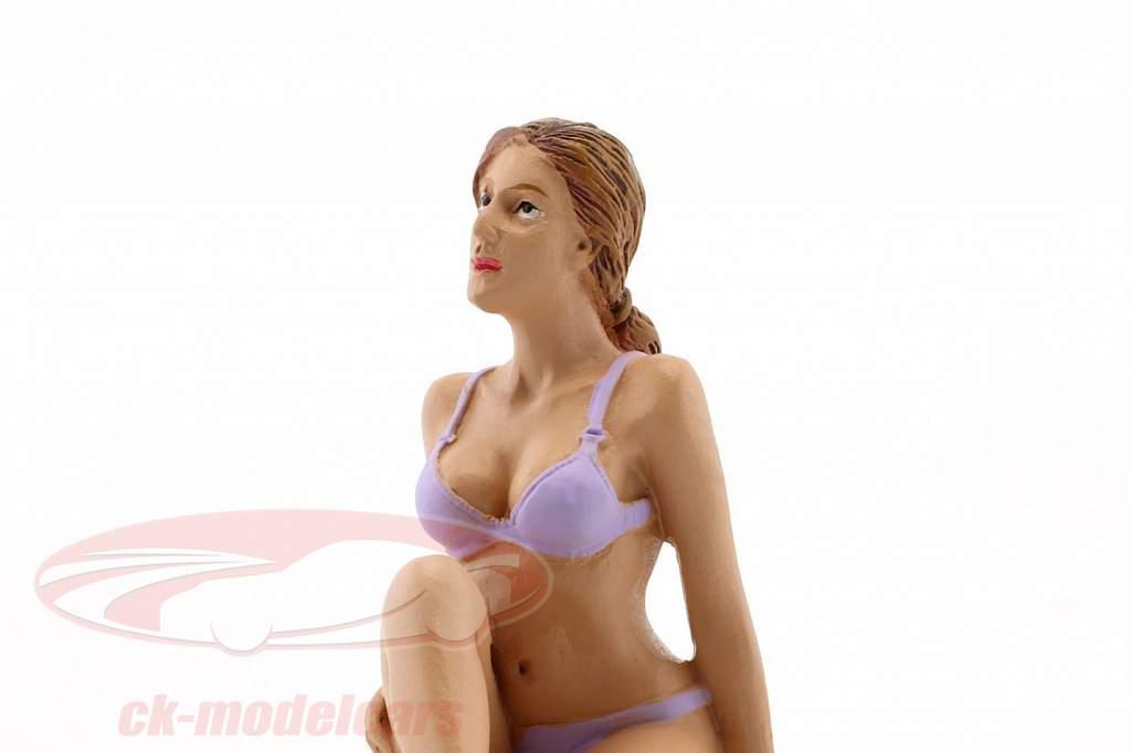 Kalender-Girl September im Bikini 1:18 American Diorama