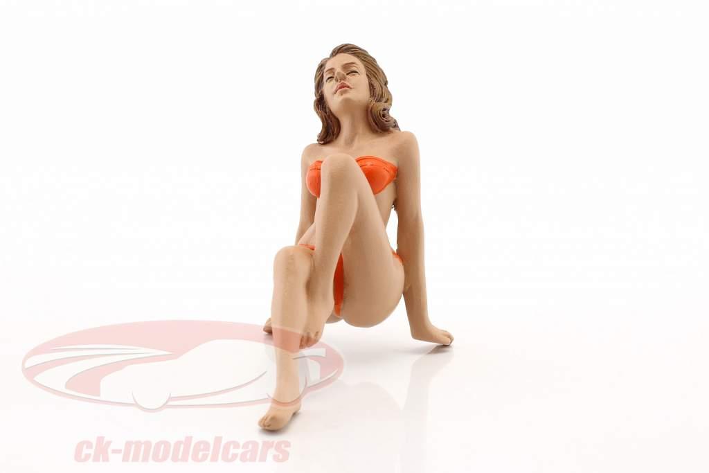 Kalender-Girl November im Bikini 1:18 American Diorama