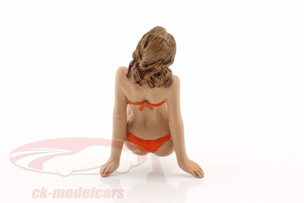 La chica del calendario noviembre en bikini 1:18 American Diorama