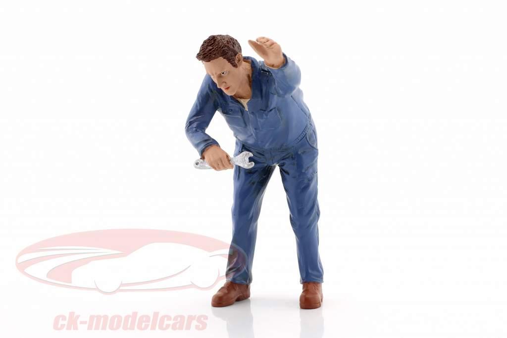 meccanico Frank cifra 1:18 American Diorama