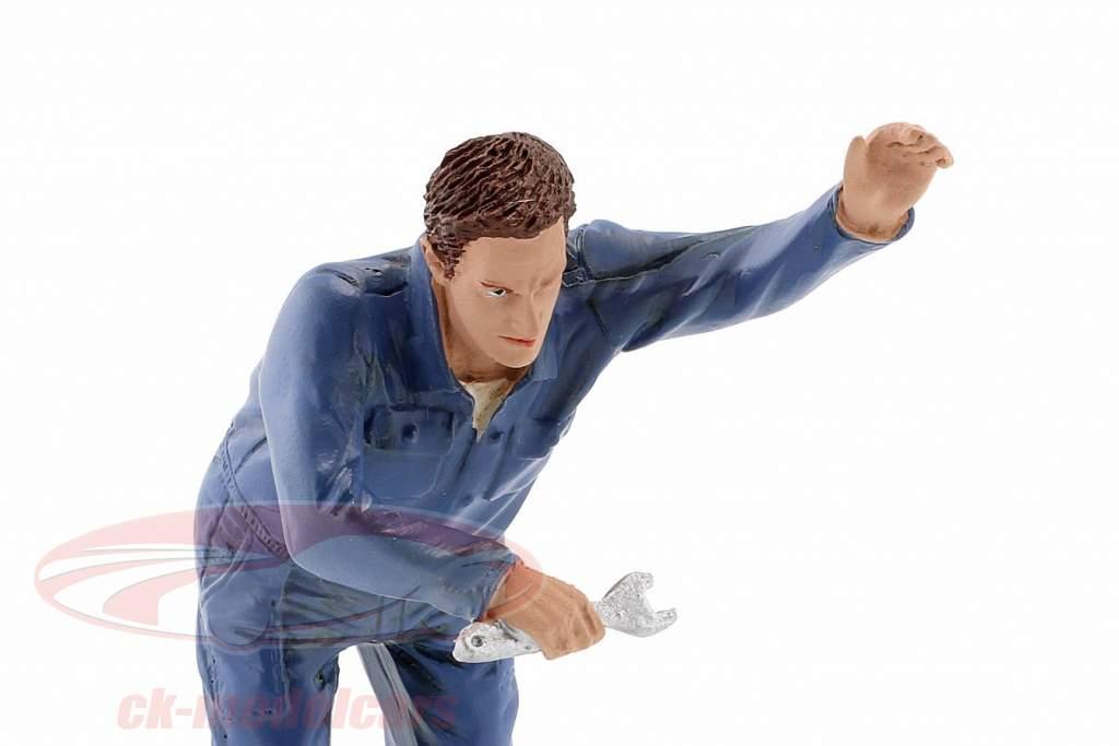 mecânico Frank figura 1:18 American Diorama
