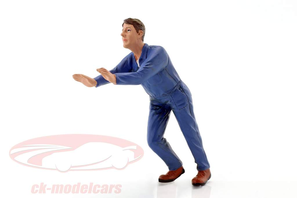 mechanic Darwin figure 1:18 American Diorama