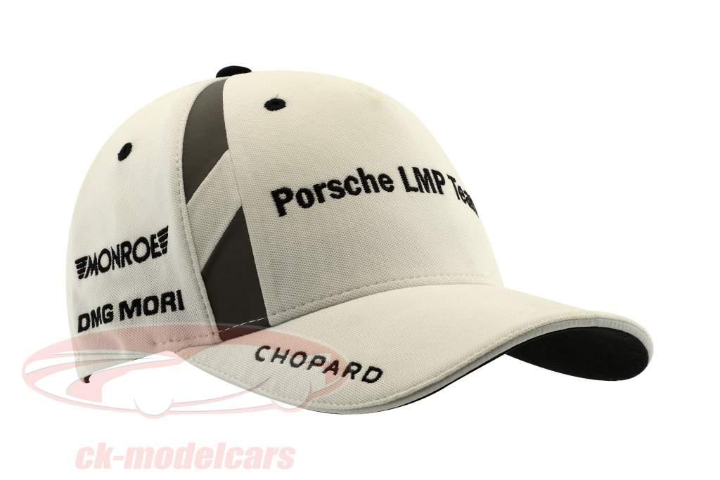 Porsche LMP Team Cap #1 Andre Lotterer 24h LeMans 2017 blanc