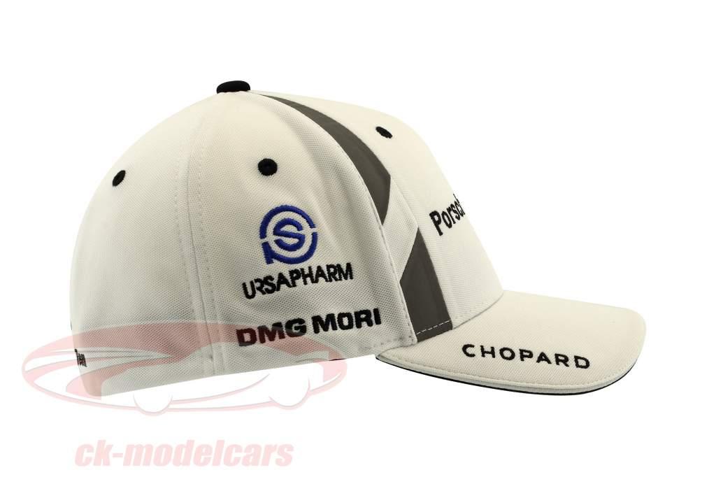 Porsche LMP Team Cap #2 Timo Bernhard Vinder 24h LeMans 2017 hvid