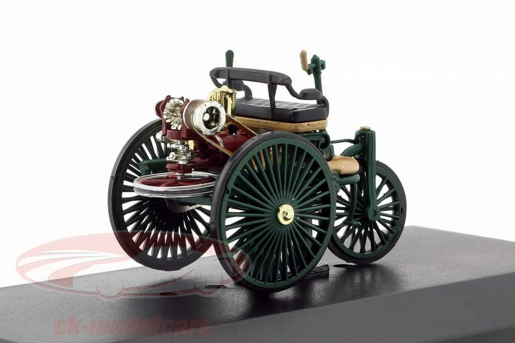 Mercedes-Benz Patent Véhicule à moteur Année de construction 1886 vert foncé 1:43 Altaya