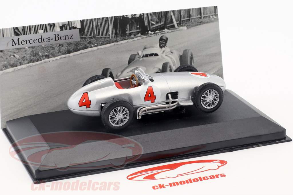 J.-M. Fangio Mercedes-Benz W196 #4 formel 1 1954 1:43 Ixo Altaya