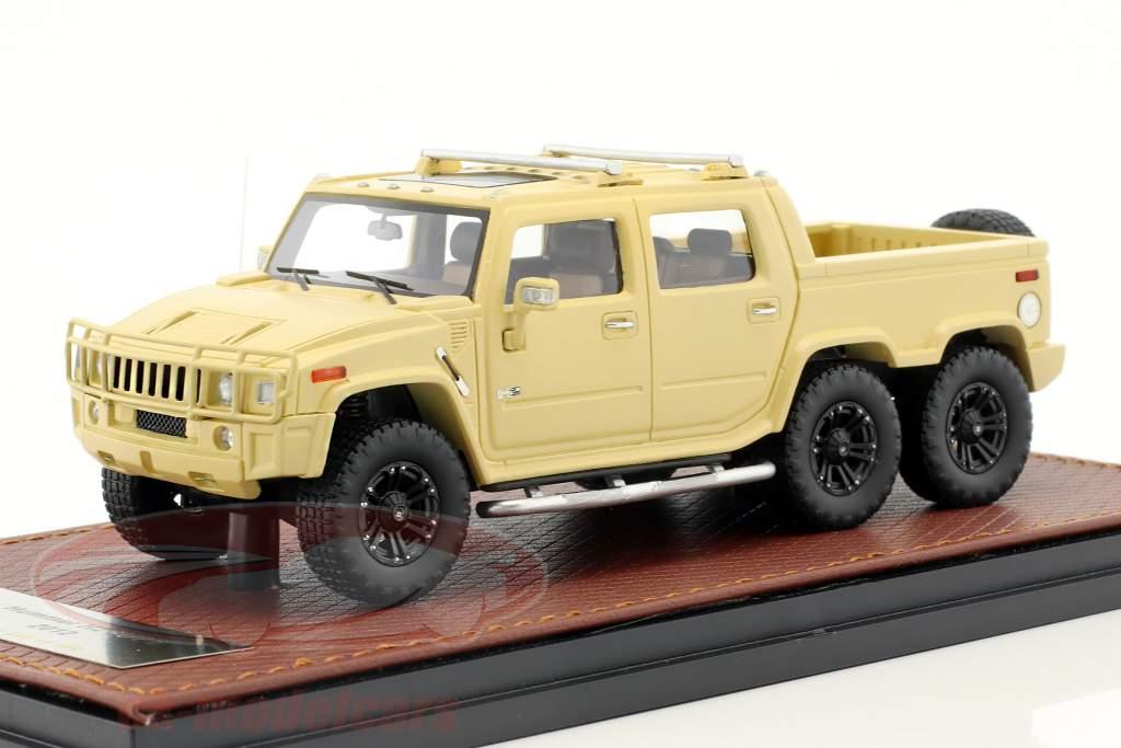 Hummer H2 SUT 6 ano de construção 2012 bege 1:43 GLM