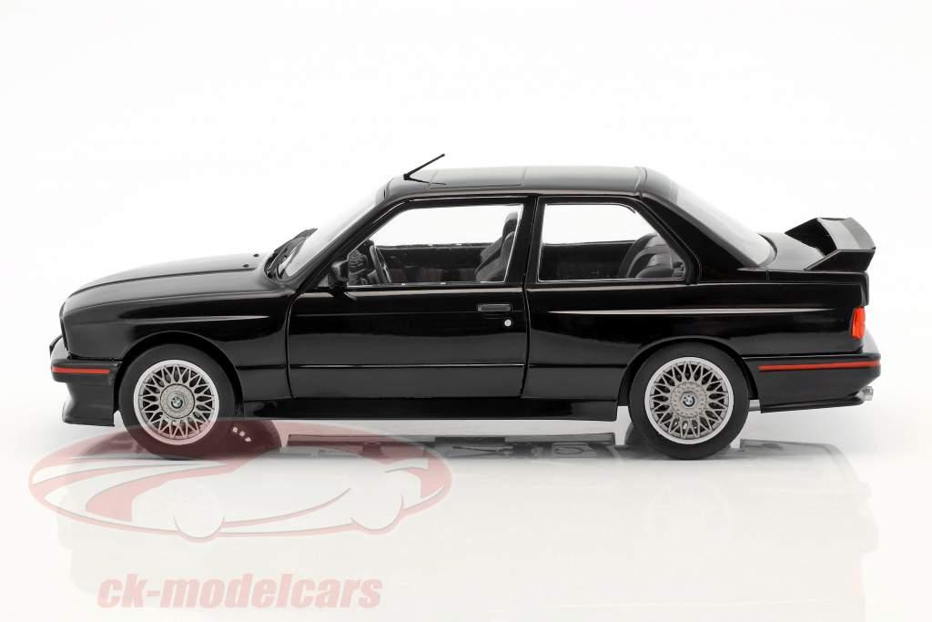 BMW M3 E30 Sport Evolution anno di costruzione 1990 nero 1:18 Solido
