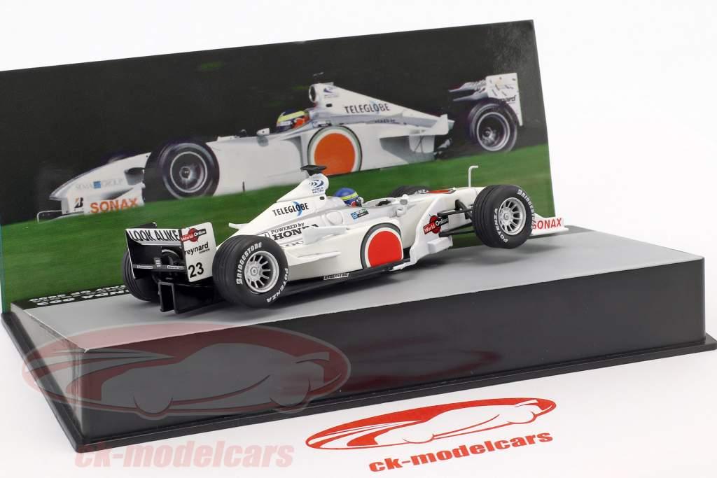 Ricardo Zonta BAR 002 #23 Italy GP formula 1 2000 1:43 Altaya