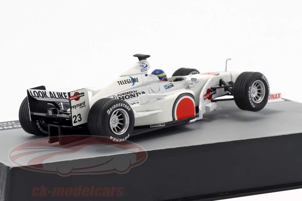 Ricardo Zonta BAR 002 #23 Italien GP Formel 1 2000 1:43 Altaya
