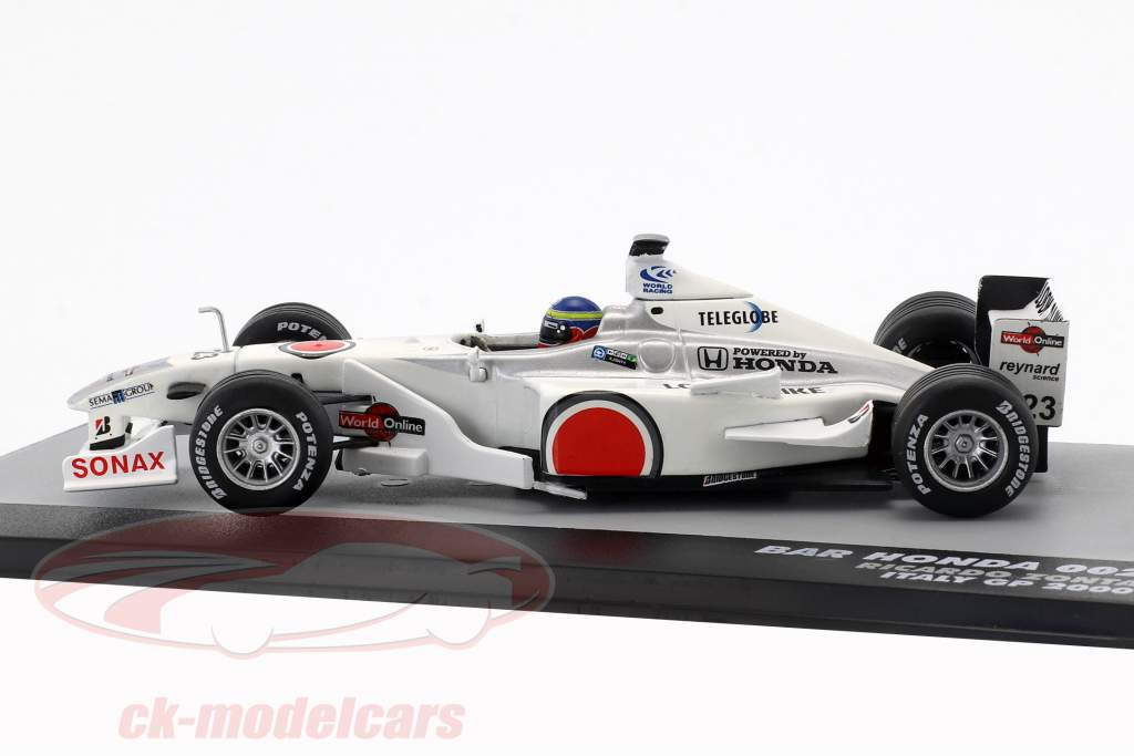 Ricardo Zonta BAR 002 #23 Italie GP formule 1 2000 1:43 Altaya