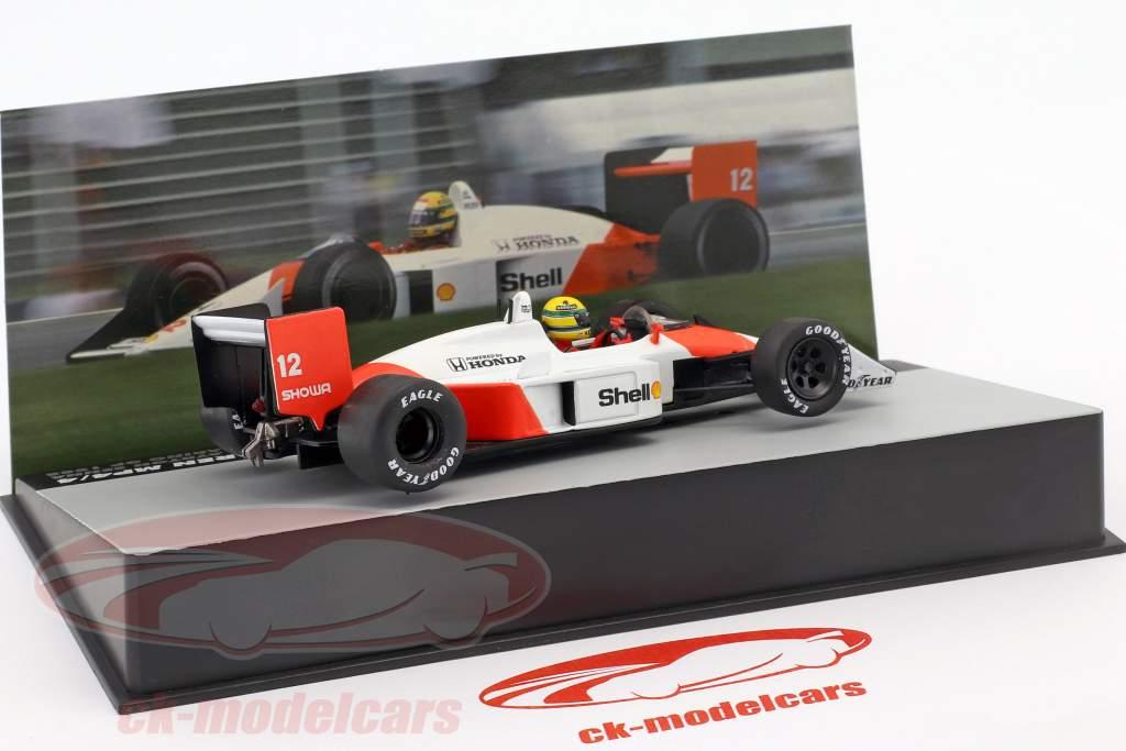 Ayrton Senna McLaren MP4/4 #12 Winner San Marino GP formula 1 1988 1:43 Altaya