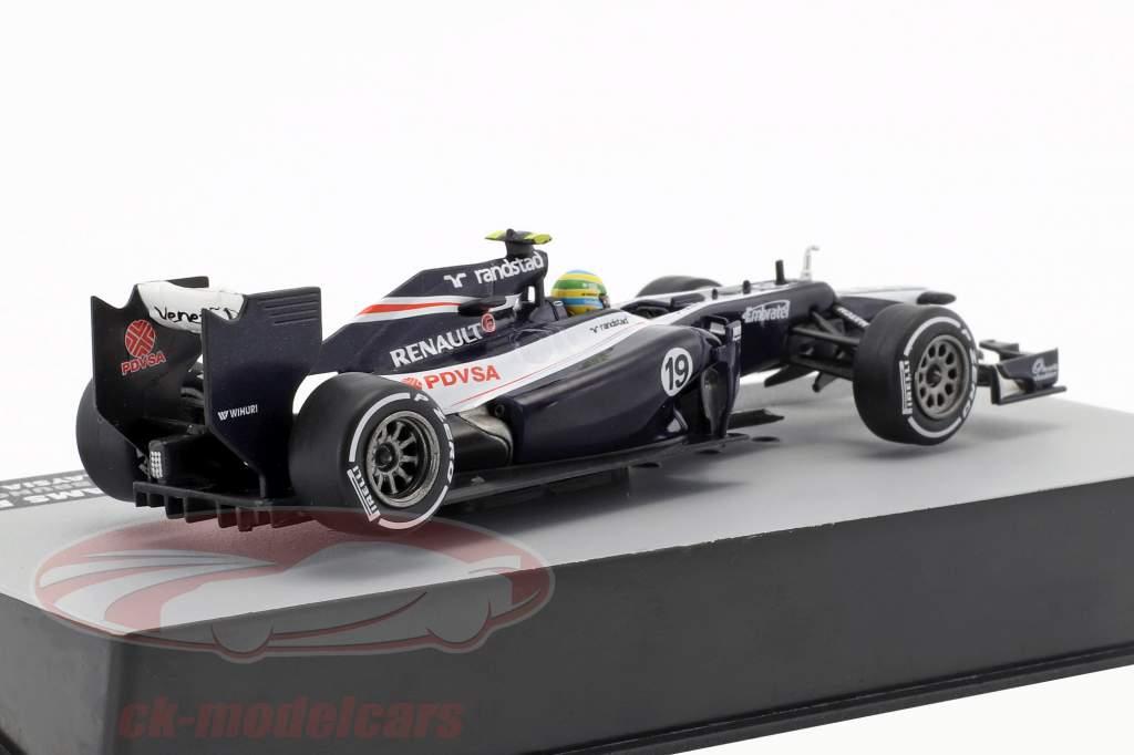 Bruno Senna Williams FW34 #19 Malaysia GP formula 1 2012 1:43 Altaya