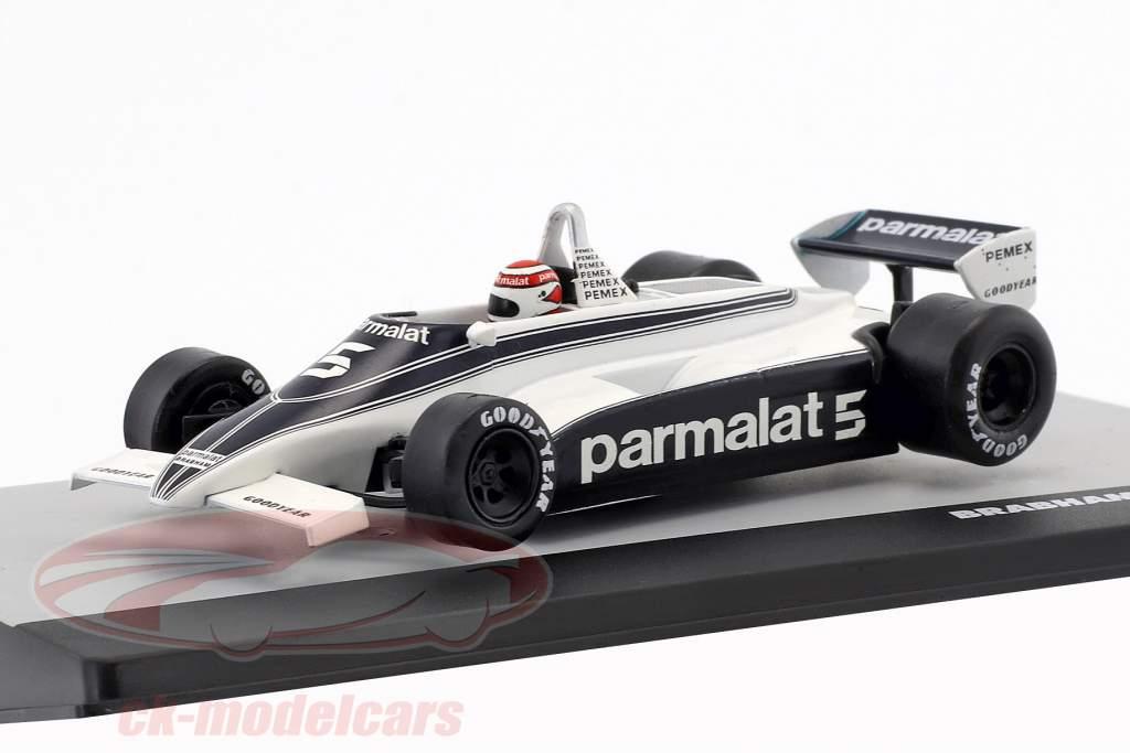 N. Piquet Brabham BT49C #5 campeão do mundo Alemanha GP fórmula 1 1981 1:43 Altaya