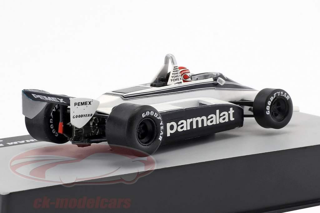 N. Piquet Brabham BT49C #5 verdensmester Tyskland GP formel 1 1981 1:43 Altaya