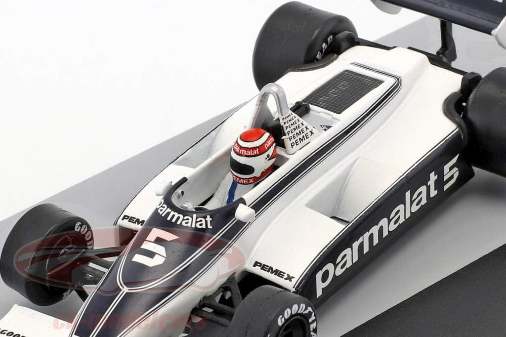 N. Piquet Brabham BT49C #5 campeón del mundo Alemania GP fórmula 1 1981 1:43 Altaya