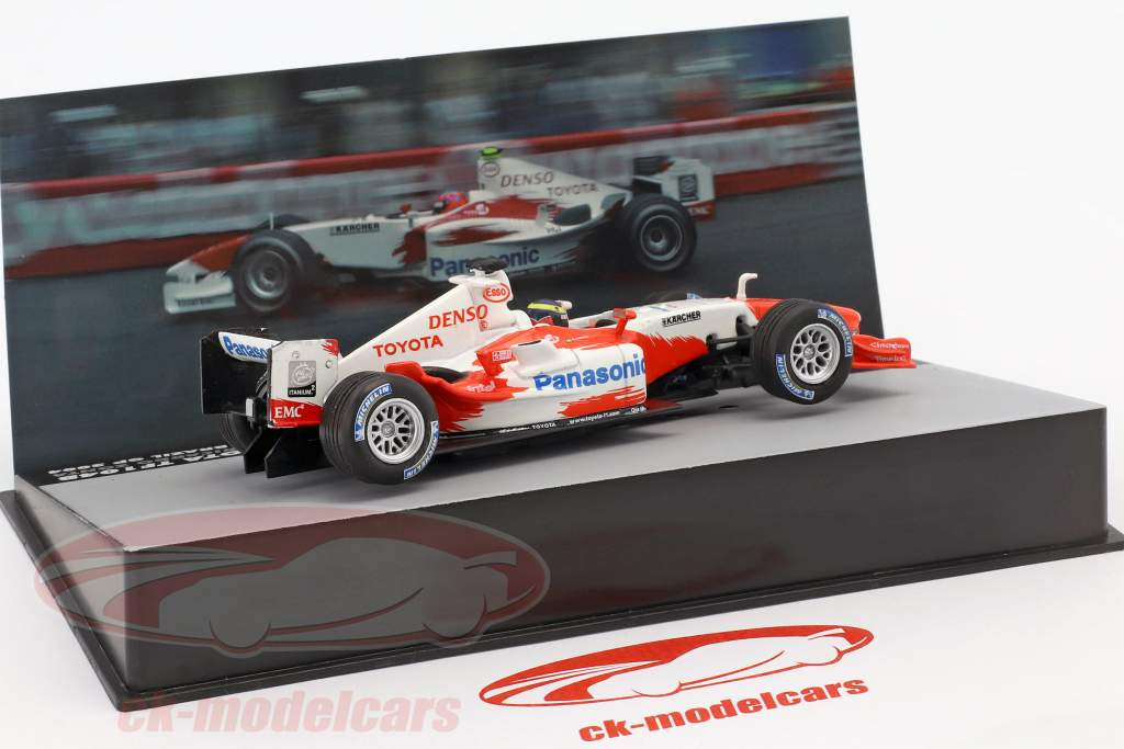 Ricardo Zonta Toyota TF104B #17 Brazil GP formula 1 2004 1:43 Altaya