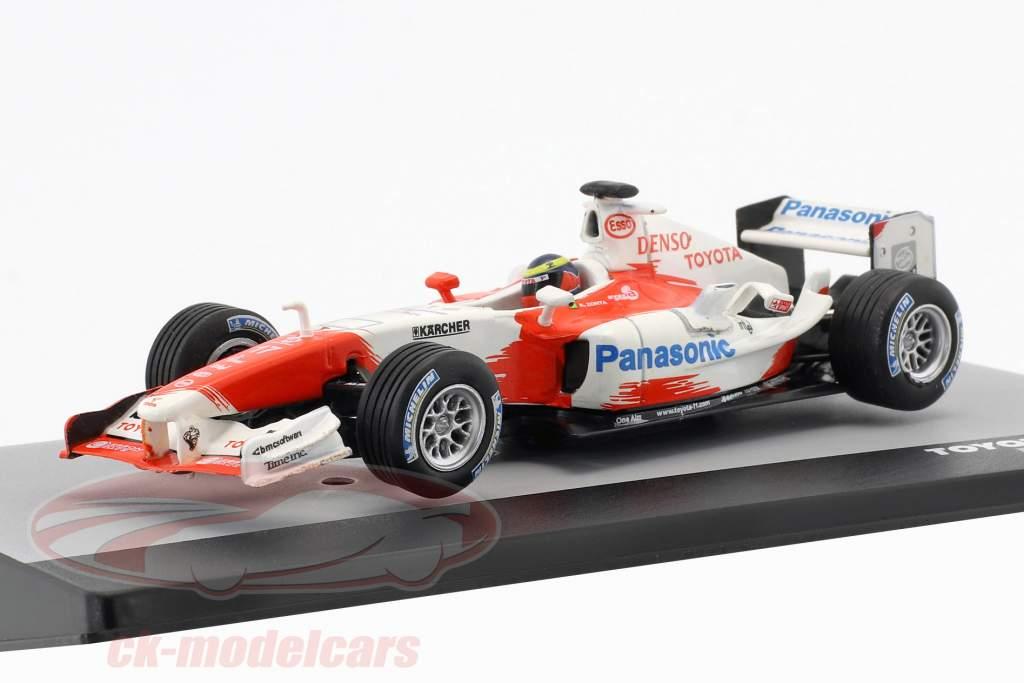 Ricardo Zonta Toyota TF104B #17 Brésil GP formule 1 2004 1:43 Altaya