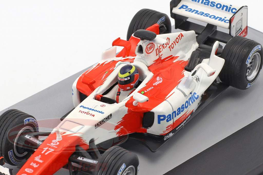 Ricardo Zonta Toyota TF104B #17 Brasil GP fórmula 1 2004 1:43 Altaya