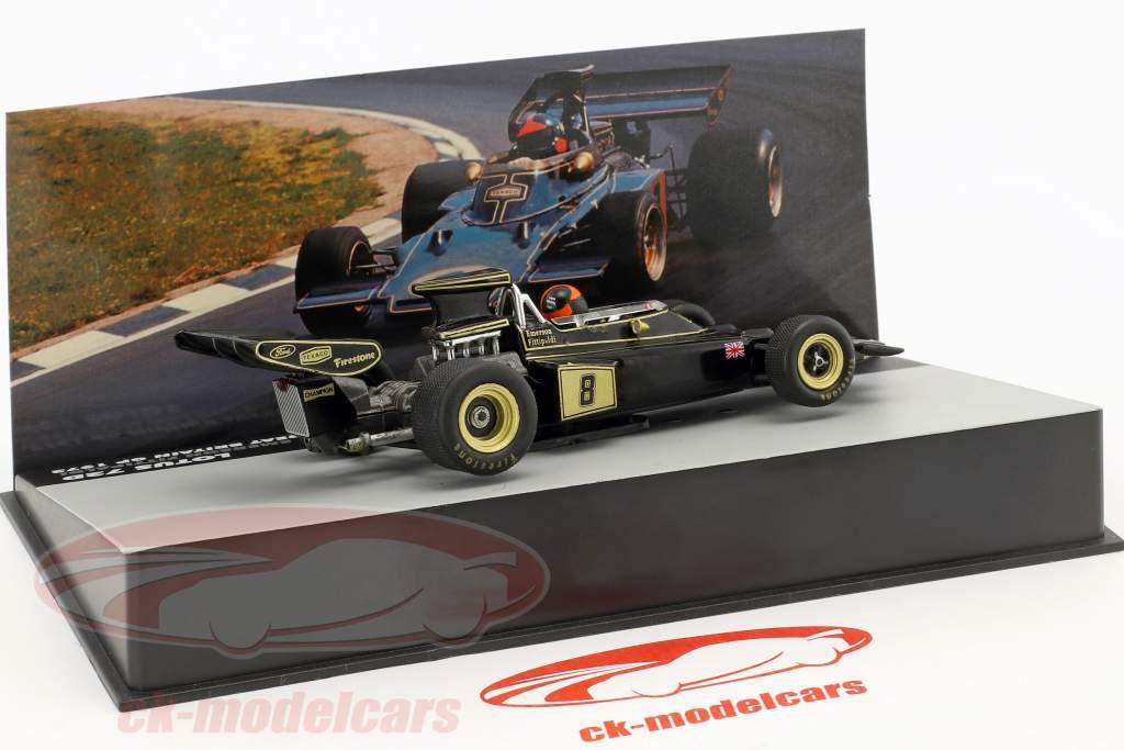 Emerson Fittipaldi Lotus 72D #8 vencedor britânico GP fórmula 1 1972 1:43 Altaya