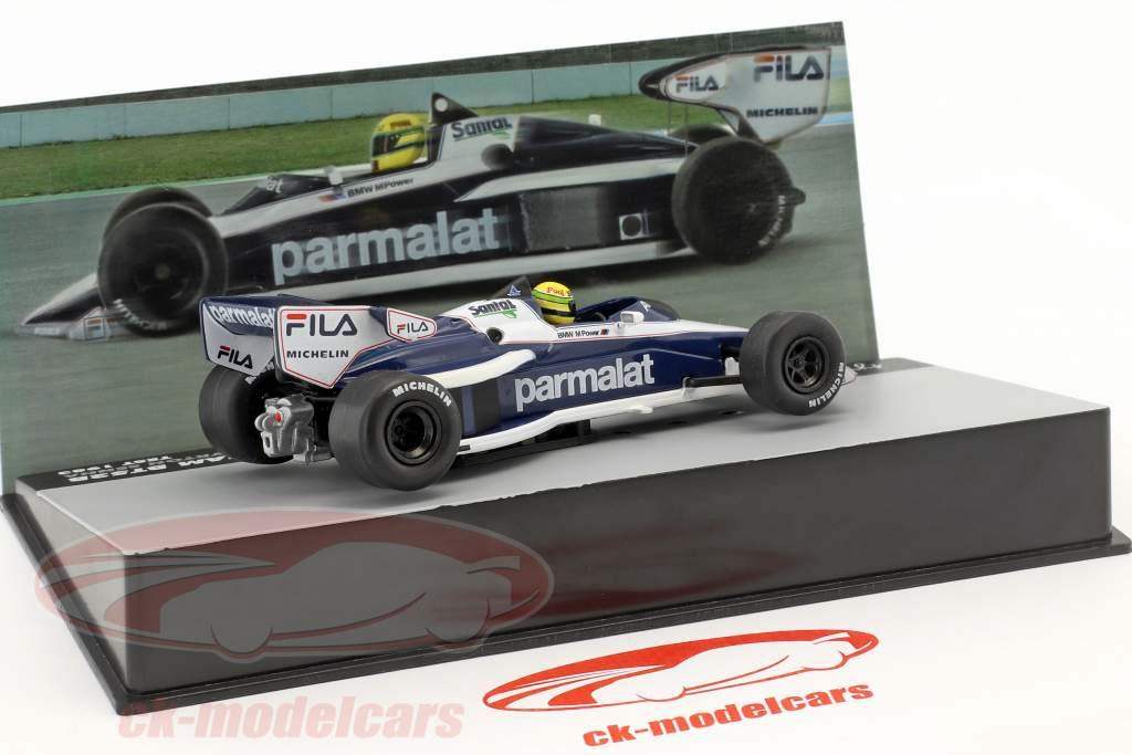 Ayrton Senna Brabham BT52B prova formula 1 1983 1:43 Altaya