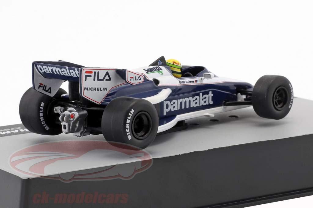 Ayrton Senna Brabham BT52B test formula 1 1983 1:43 Altaya