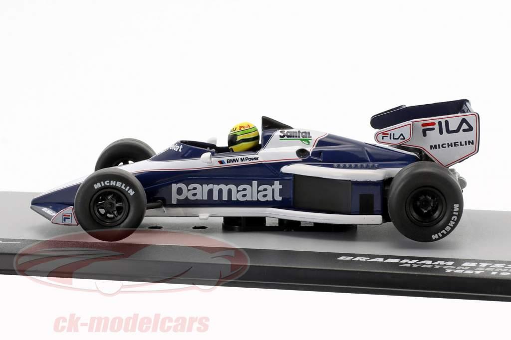 Ayrton Senna Brabham BT52B prøve formel 1 1983 1:43 Altaya
