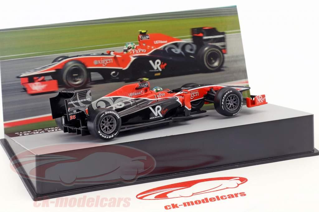 Lucas di Grassi Virgin VR-01 #25 Malaysia GP Formel 1 2010 1:43 Altaya