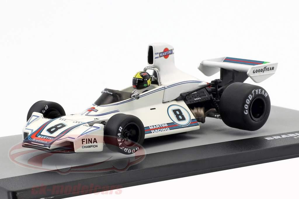 Carlos Pace Brabham BT44B #8 Ganador GP Brasil Fórmula 1 1975 1:43 Altaya