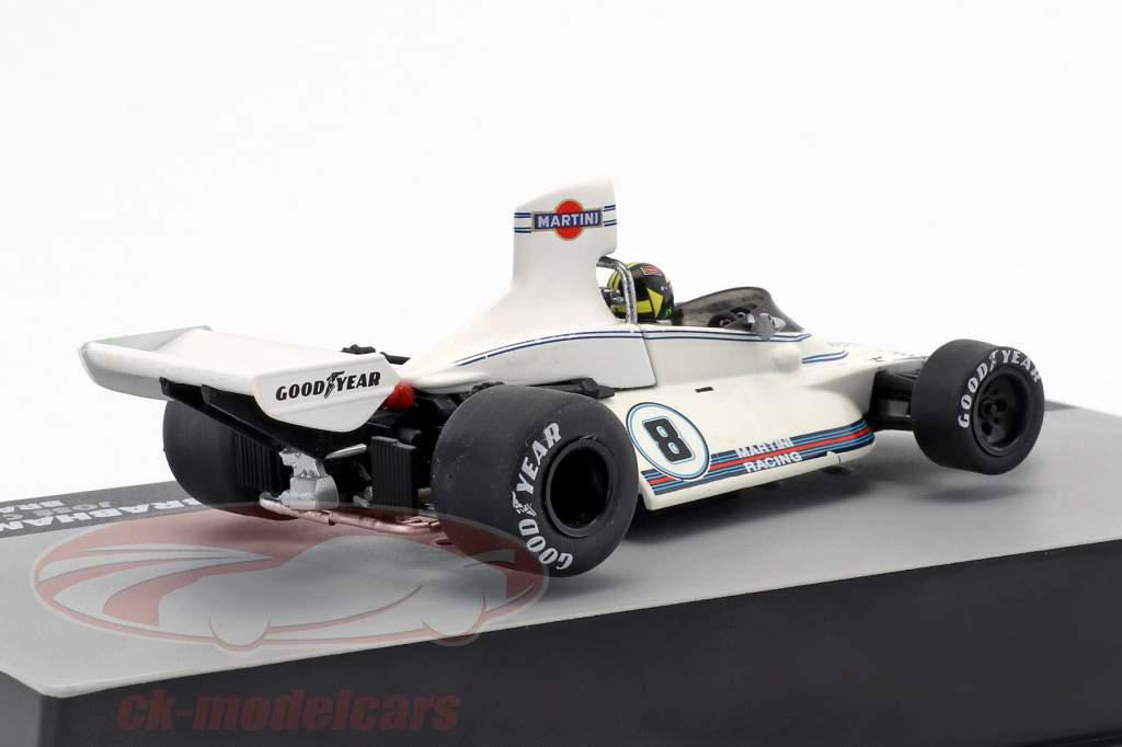 Carlos Pace Brabham BT44B #8 Winnaar GP Brazilië Formule 1 1975 1:43 Altaya