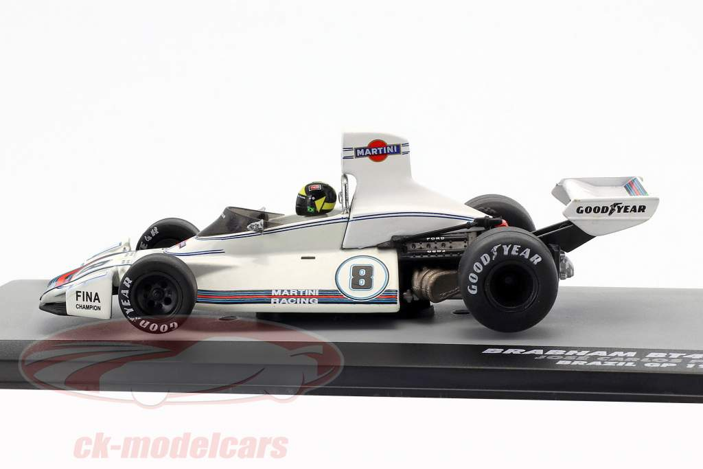 Carlos Pace Brabham BT44B #8 Vinder GP Brasilien Formel 1 1975 1:43 Altaya