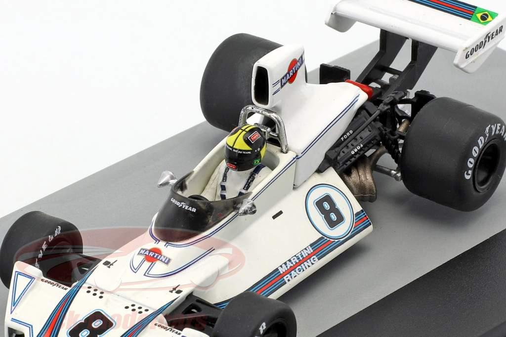 Carlos Pace Brabham BT44B #8 Vincitore GP Brasile Formula 1 1975 1:43 Altaya