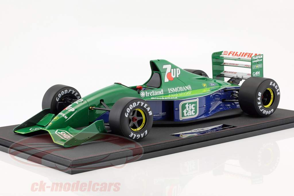 Michael Schumacher Jordan 191 #32 F1 Debut Belgien GP Formel 1 1991 1:8 Real Art Replicas